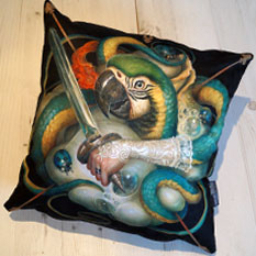 Craola Pillow