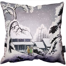 WinterBunnies Pillow