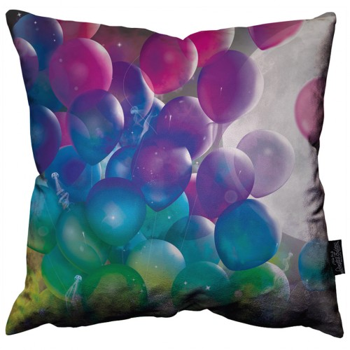 Balloons in the Moon Pillow