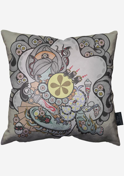 Egg Fantasy Pillow