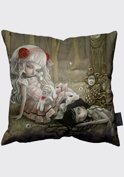 Missing Heart Pillow