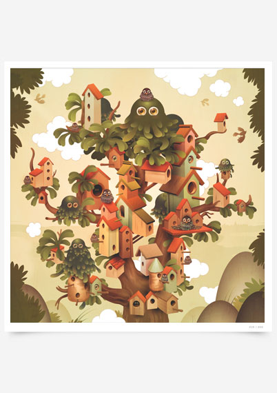 Bird House Tree House