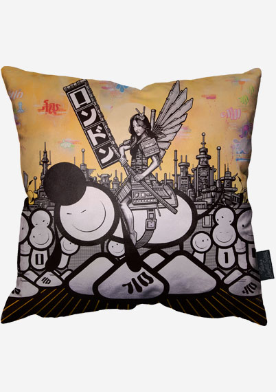 Samurai Pillow