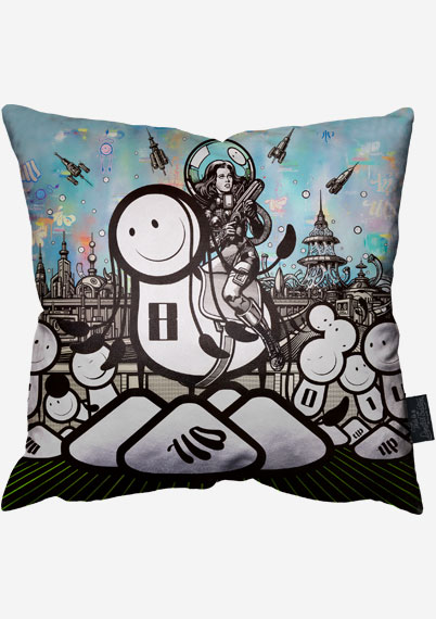 Barbarella Pillow