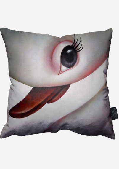 White Soul Pillow