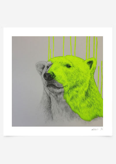 Hey there Polar Bear - Yellow