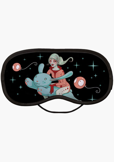Flying Bunny EyeMask