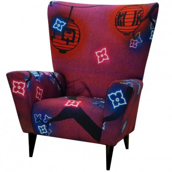 Peaceful Fall Wingchair