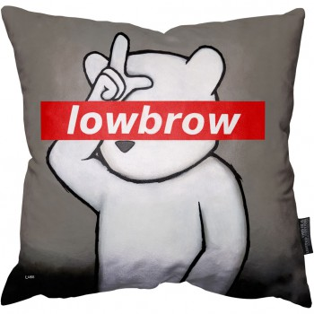 Lowbrow Pillow