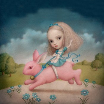 Alice over the Rabbit