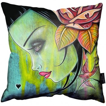 Blue Resolve Pillow