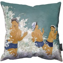 The Three Amas Pillow image #1