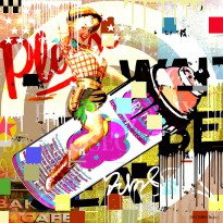 Spray Can Rodeo Girl image #1