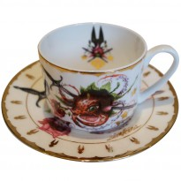 Strawctopus Cup & Saucer image #3