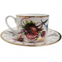 Strawctopus Cup & Saucer image #1
