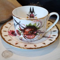 Strawctopus Cup & Saucer image #8