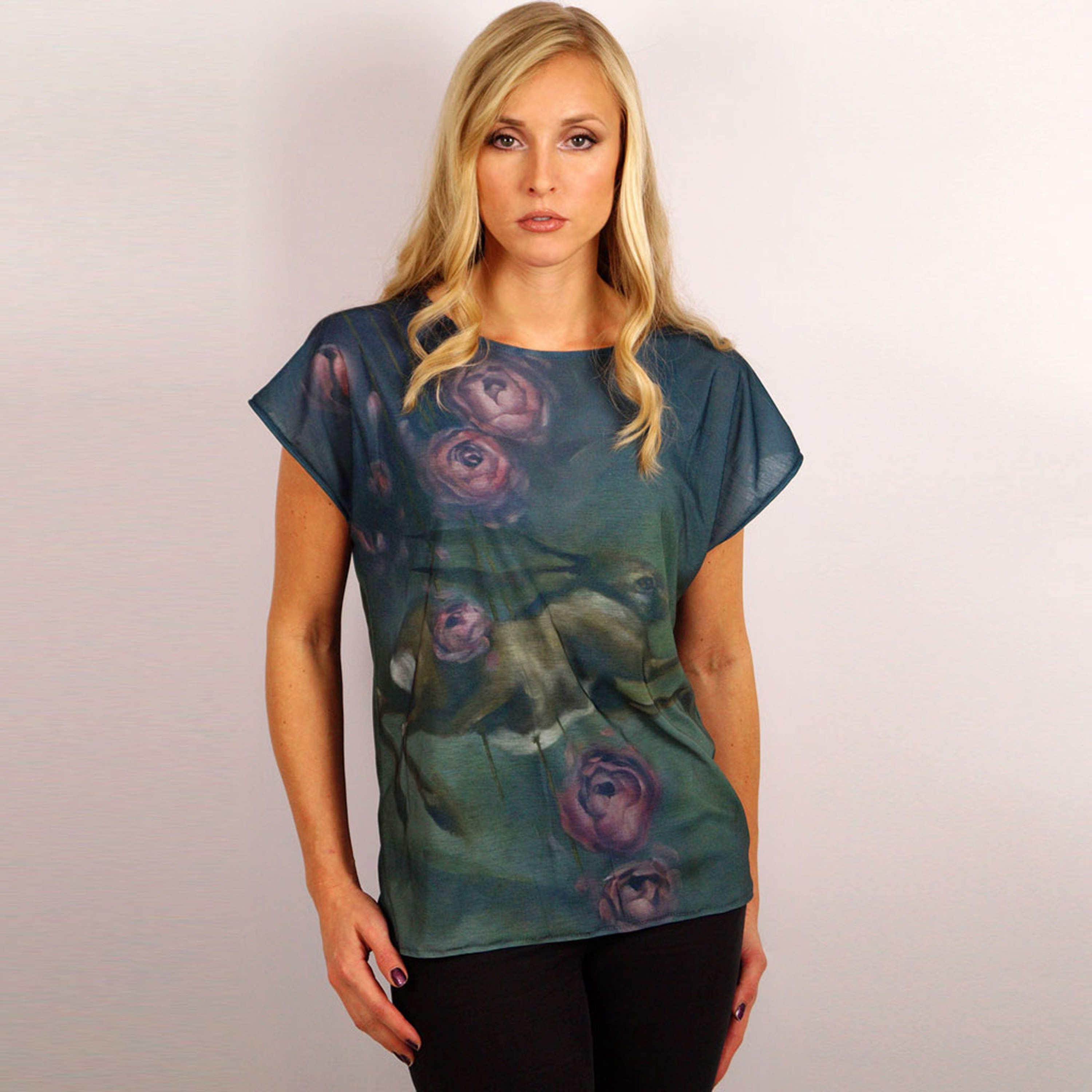 Woven Ladies T-Shirt