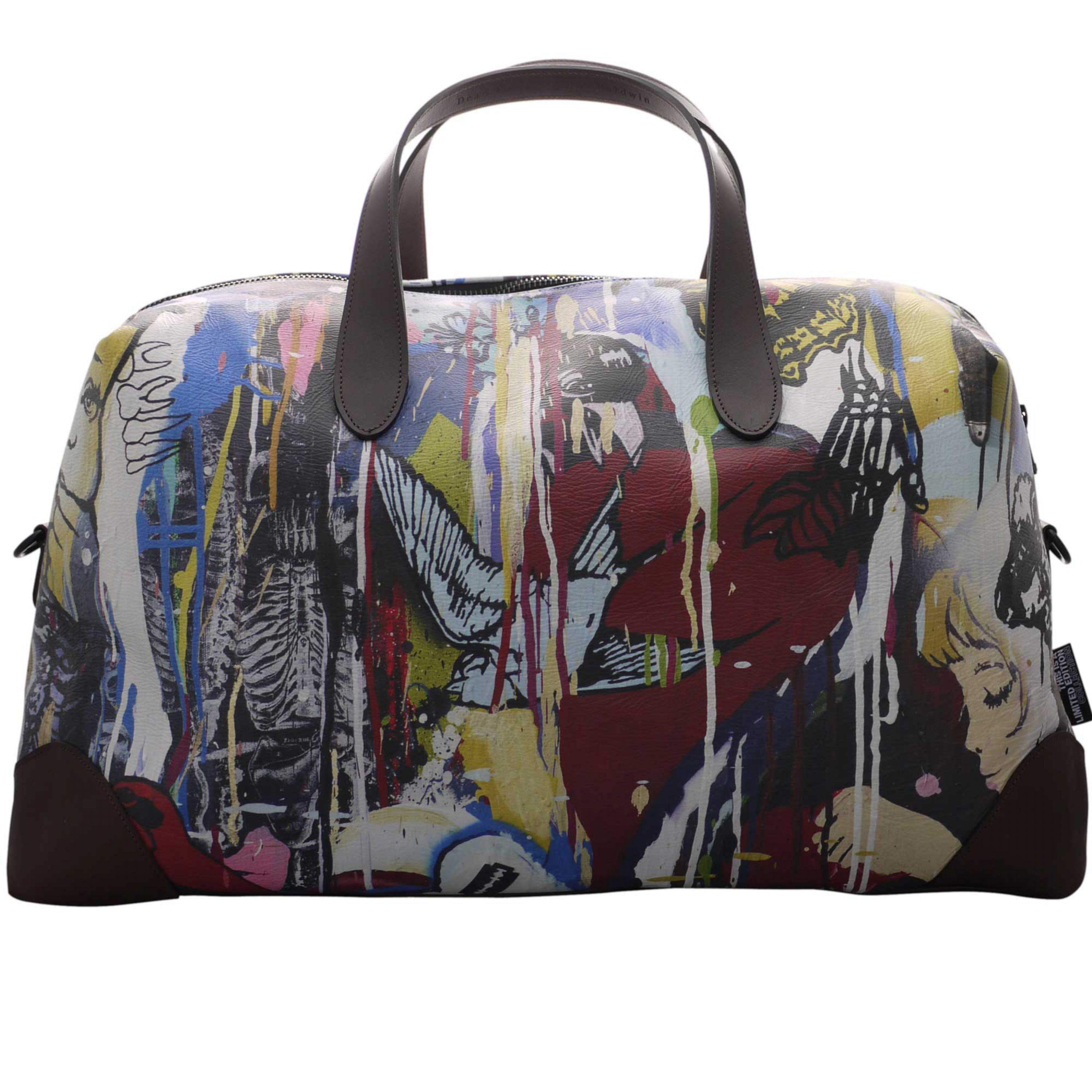 Dead Heavy Leather Holdall