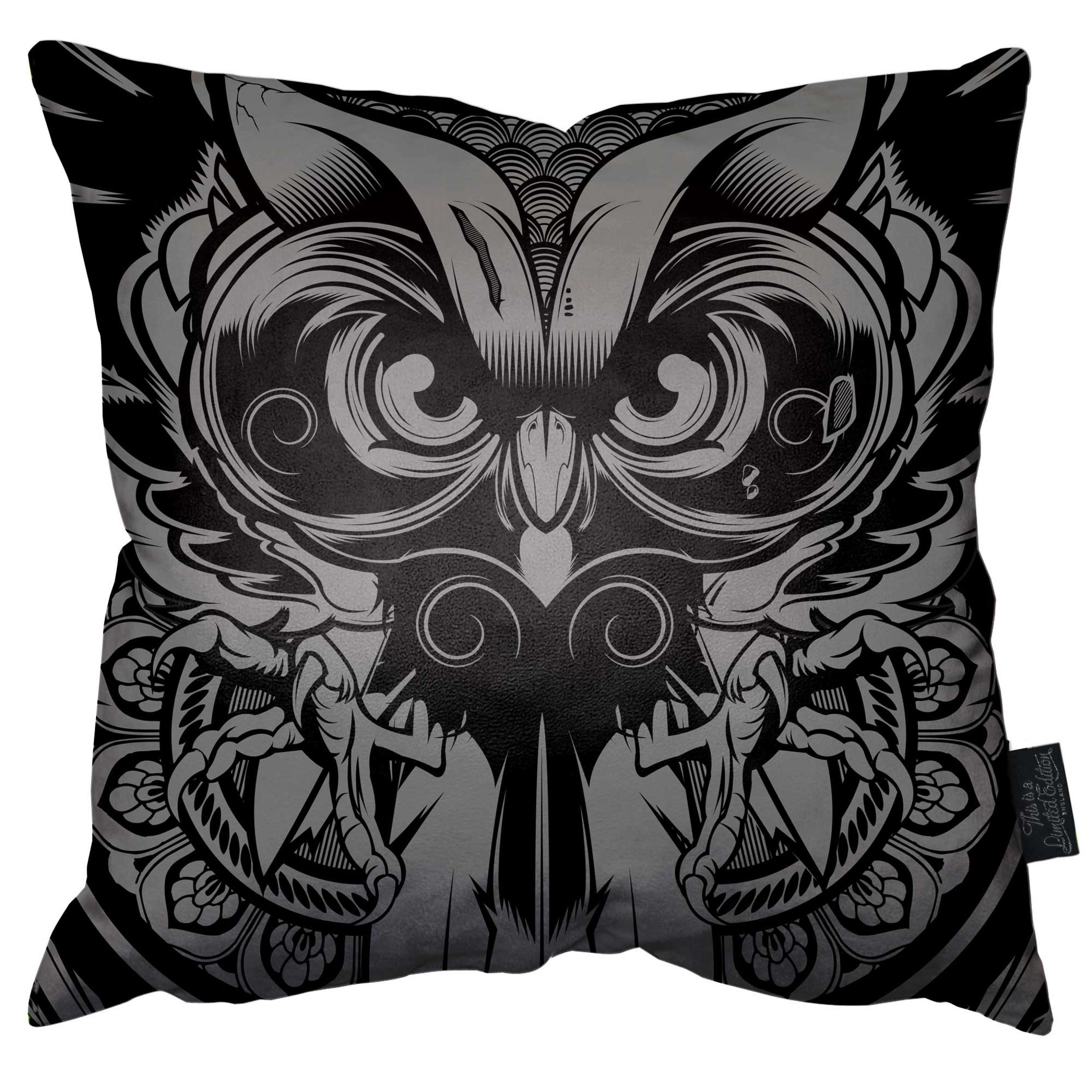 Enlightened Owl Pillow