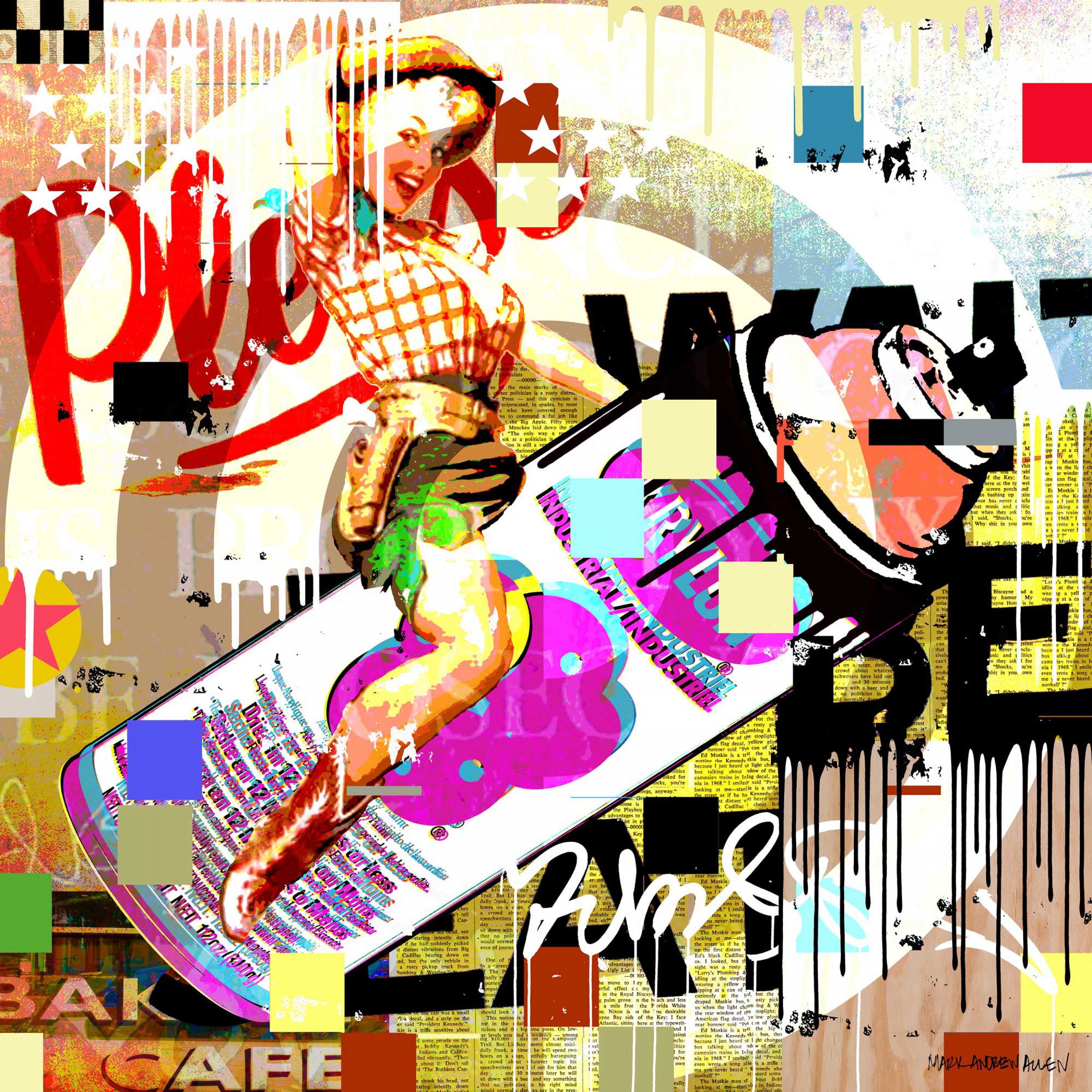 Spray Can Rodeo Girl