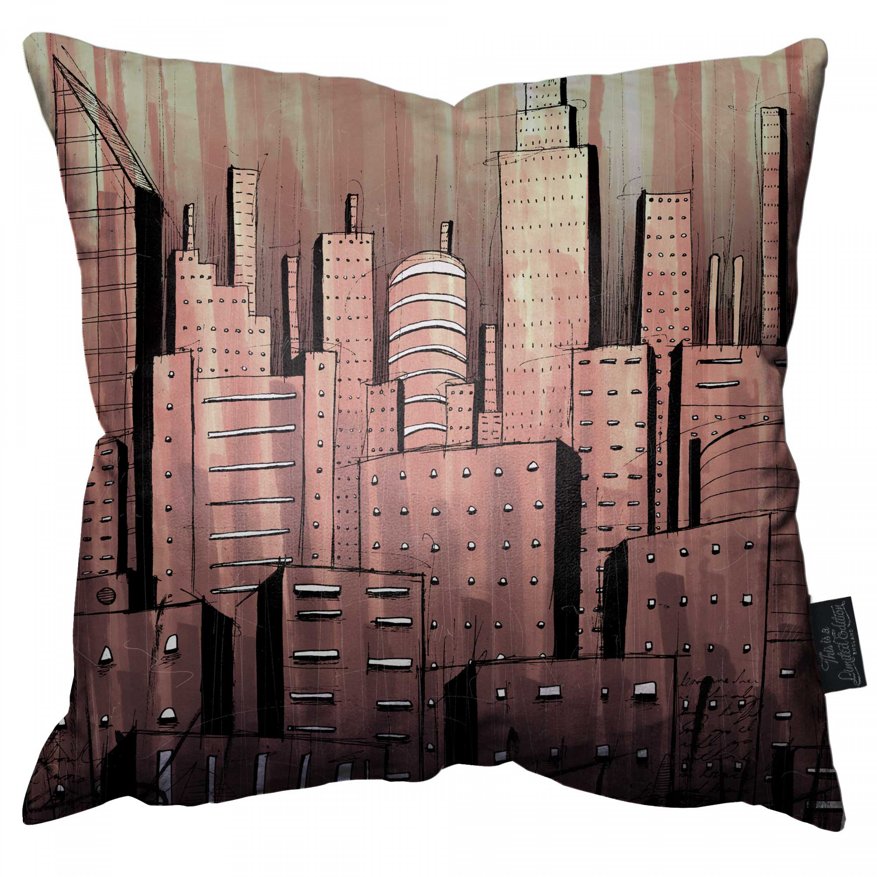 Inner City Life Pillow