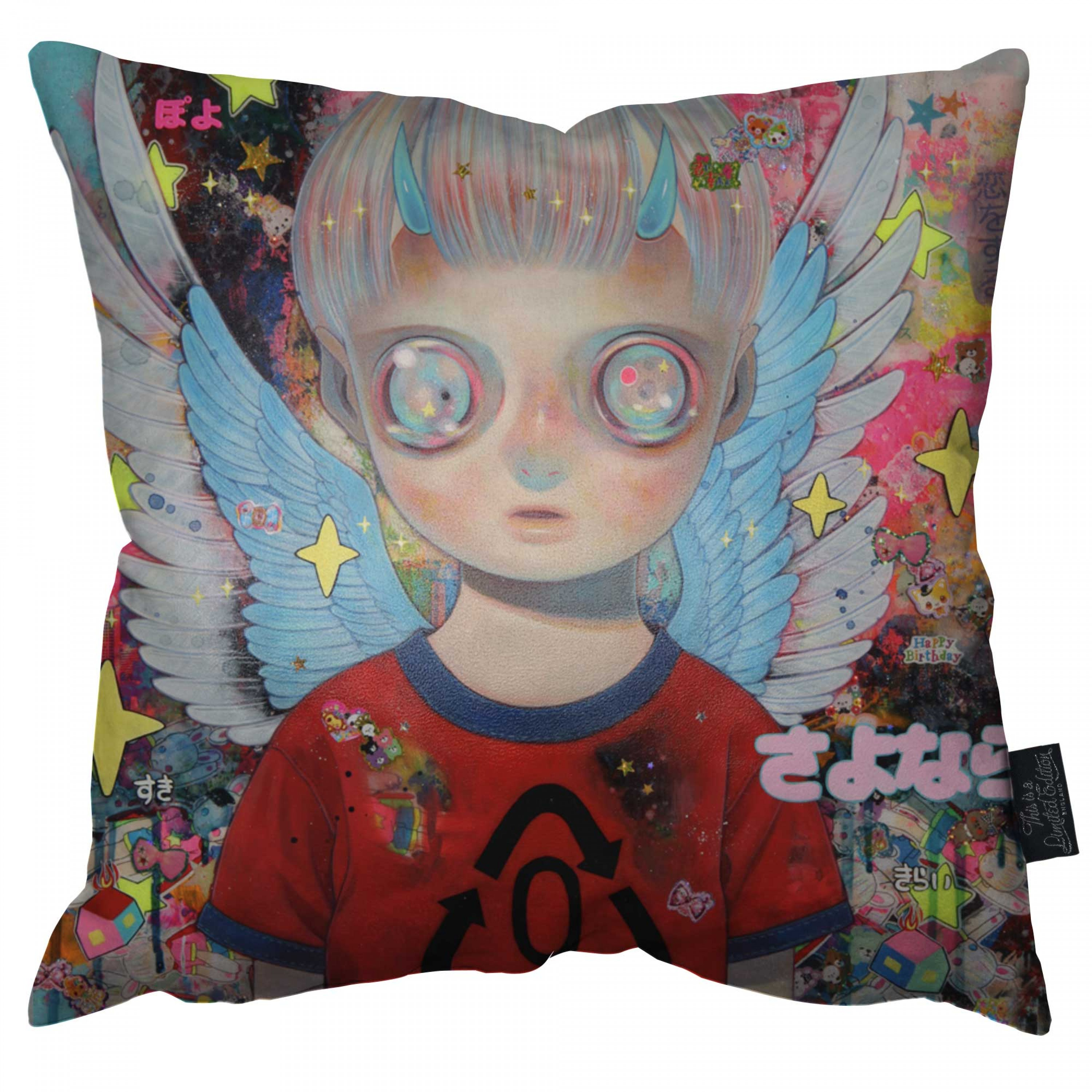 Angel of History Pillow