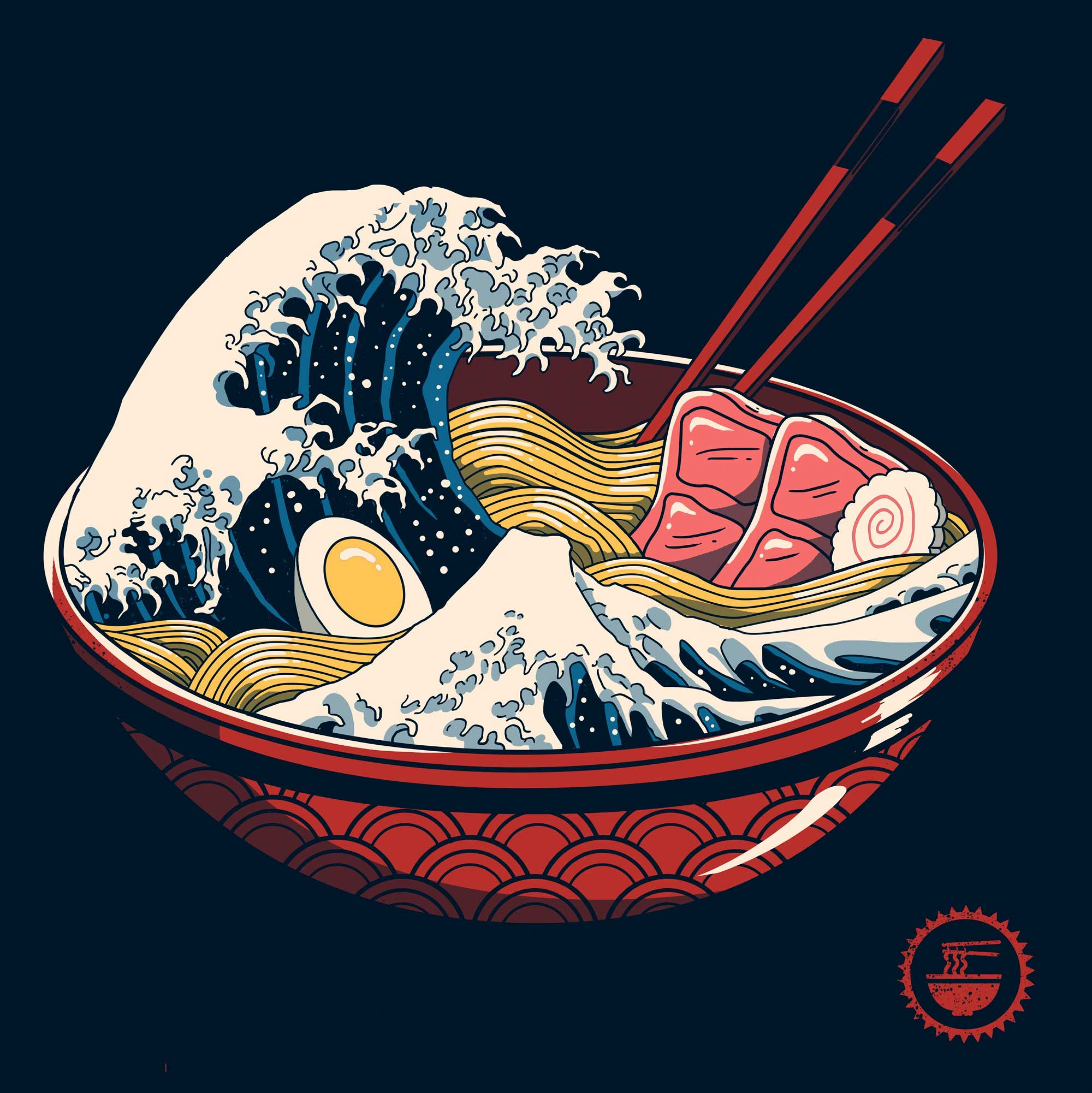 The Great Wave of Ramen